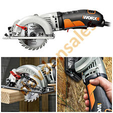 Compact Circular Saw Worx Amp Wx429L Worxsaw Corded Tool Power Blade Workshop