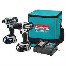 Makita CT200RW 18V LXT 2.0 Ah Cordless Lithium-Ion Drill Driver and Impact Driver Combo Kit