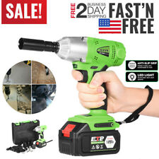 16800mAh 1/2'' Electric Brushless Cordless Impact Wrench Drill High Torque Tool