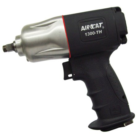 """AIRCAT - ½ - ½ 3/8"""" Composite Impact Wrench with Twin Hammer """"Super Clutch"""" Mechanism"""