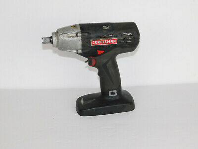 """Craftsman C3 19.2v CORDLESS 1/2"""" IMPACT WRENCH Bare Tool Only."""