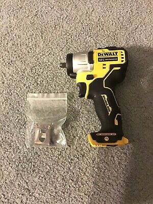 """DeWALT Xtreme DCF902 12V Max 3/8"""" Brushless 3 Speed Impact Wrench And Belt Clip"""