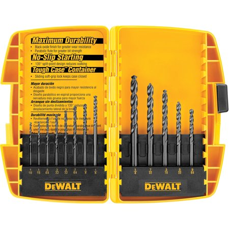 13PC BLK OX DRILL BIT SET