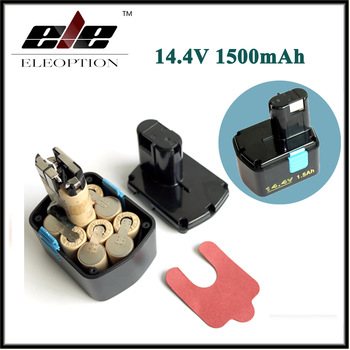 14.4V 1500mAh Rechargeable Battery for Hitachi EB1414S EB 1412S, EB 1414 EB 1414L EB 1414S C-2 CJ 14DL DH 14DL DS 14DAF2