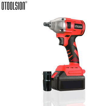 21V 320N.m Brushless Impact Wrench 3000Mah Electric Socket Battery Wrench Power Tools Lithium-lon Battery With Tools Parts