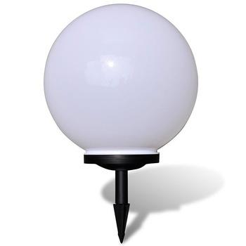 2PCS LED Solar Powered Lawn Lamp LED Solar Garden Ball Light Lanterns Lamps Light Sensor Path Garden Outdoor Holiday home Decor