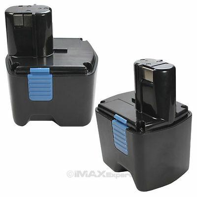 2x 18V 3.0AH Ni-Mh Battery for HITACHI EB1830H G18DL WR18DL WH18DL RB18DL UB18DL
