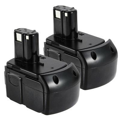2x 18V 4000mAh Li-Ion Battery for HITACHI BCL1815 EBM1830 WR18DL RB18DL UB18DL