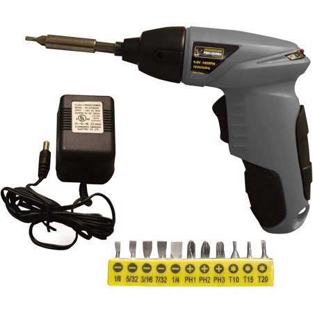 4.8 Volt Rechargable Cordless Palm Screwdriver Power Drill Hand Tool