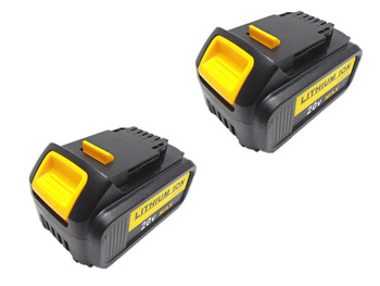 Abakoo For DeWalt 18V 6000mAh Battery Power Tools Batteries Replacement DCB181 DCB182 DCD780 DCD785 DCD795 L10