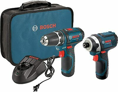 Bosch Power Tools Combo Kit CLPK22-120 12V Cordless Drill/Driver & Impact Driver