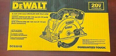 "Brand New Dewalt DCS391B 20V Cordless Battery Circular Saw 20 Volt DCS391 6 1/2"""