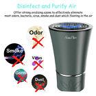 Car Air Freshener Purifier Carbon Deodorizer HEPA Filter Cleaner Ionic W/ Fiiter
