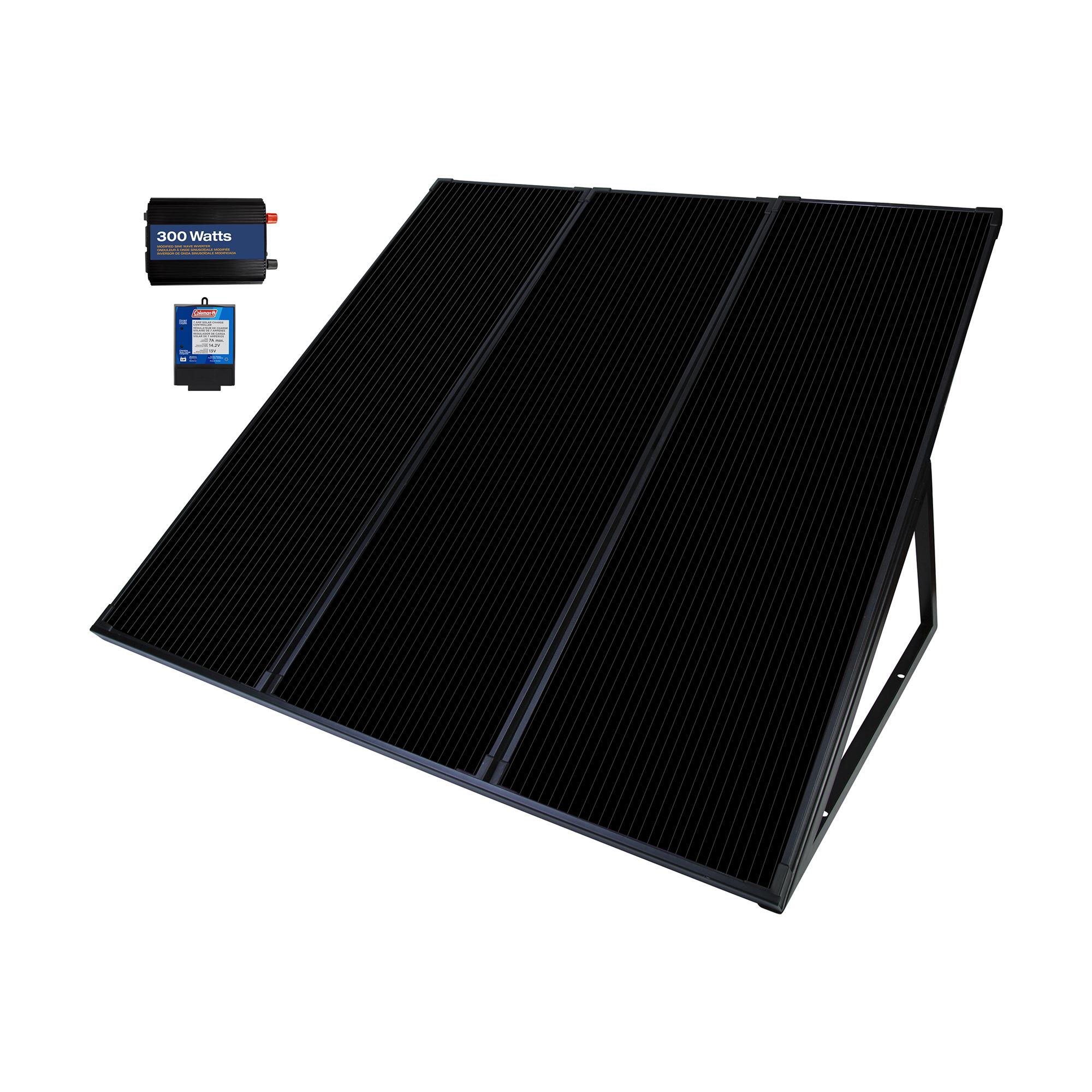 Coleman 55 Watt Solar Power Generator Kit