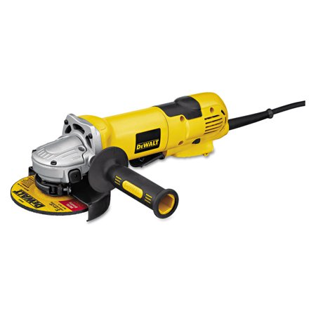 DeWalt D28114 High-Performance Angle Grinder, 4 1/2in to 5in Wheel, 2.3hp, 11,000 rpm