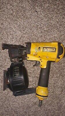 Dewalt Pneumatic Coil Roofing Nailer Nail Gun