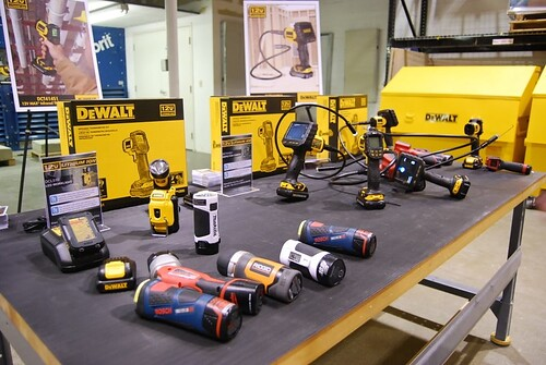 construction tools powertools dewalt 12volt cordlesstools... (Photo: Charles & Hudson on Flickr)