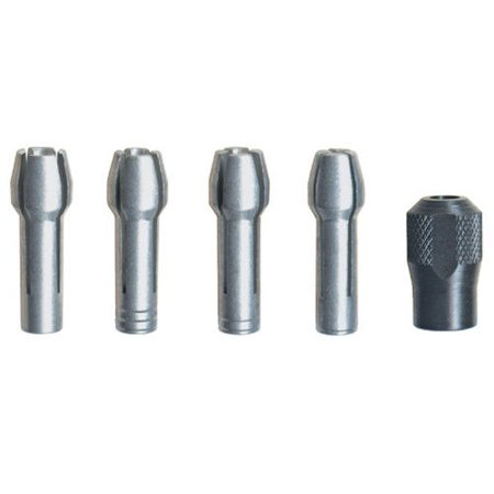 Dremel 4485-01 Quick Change Collet Nut Set for Rotary Tools, 5-Piece