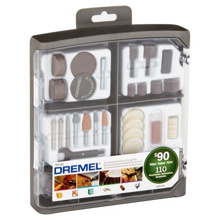 Dremel 709-02 110-Piece All-Purpose Rotary Accessory Kit