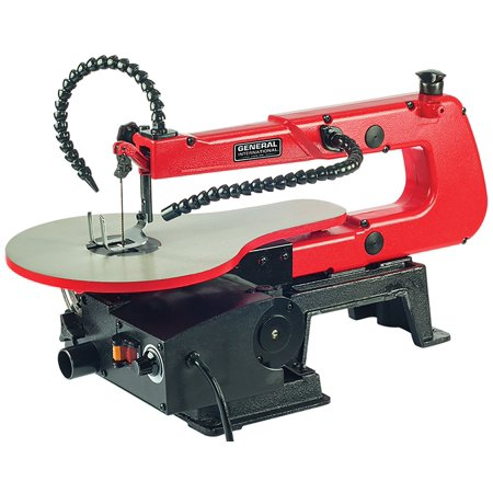 """General International Power Products BT8007 16"""" Scroll Saw with LED light"""