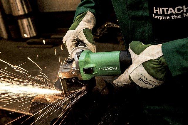 grinder, hitachi, power tool