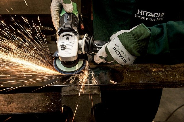 grinder, hitachi, power tool