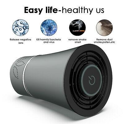 HC3 Air Freshener Car Purifier Home Car Deodorizer USB Hepa Filter Cleaner Ionic