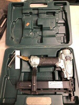 Hitachi NT50AE2(S): 18-Gauge 5/8-Inch to 2-Inch Brad Nailer Nail Gun In Case