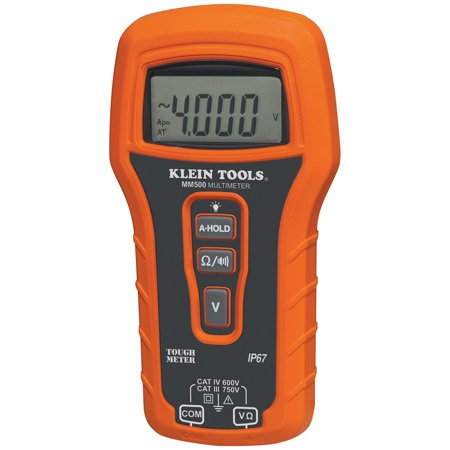 KLEIN TOOLS AUTO RANGING MULTIMETER WATERPROOF