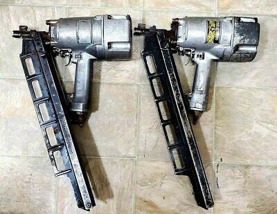 "Lot of 2 Hitachi NR 83A - 3 1/4"" Round Head Framing Nail Gun Pneumatic"