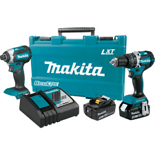 Makita XT269M-R 18V LXT® Lithium‑Ion Brushless Cordless 2‑Pc. Combo Kit (4.0Ah)