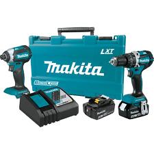 Makita XT269M-R 18V LXT® Lithium‑Ion Brushless Cordless 2‑Pc. Combo Kit (4.0Ah)