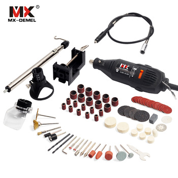 Mini Drill Dremel Style Electric Rotary Tools Engrave Grinder Variable Speed With Shaft Accessories DIY Kits power Tool