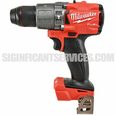 "New Milwaukee 2804-20 M18 FUEL 18V 1/2"" Brushless Cordless Hammer Drill Driver*"