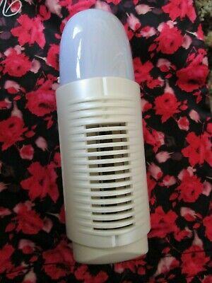 NWOB AIR INNOVATIONS IONIC AIR CLEANER FRESHENER ALLERGY ODORS & NIGHT LIGHT