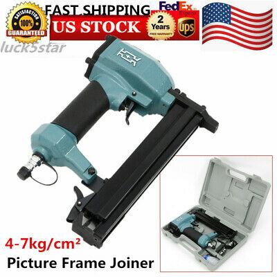 Pneumatic Picture Frame Joiner V-nailer Joiner Gun Miter Framing V NAIL Guns