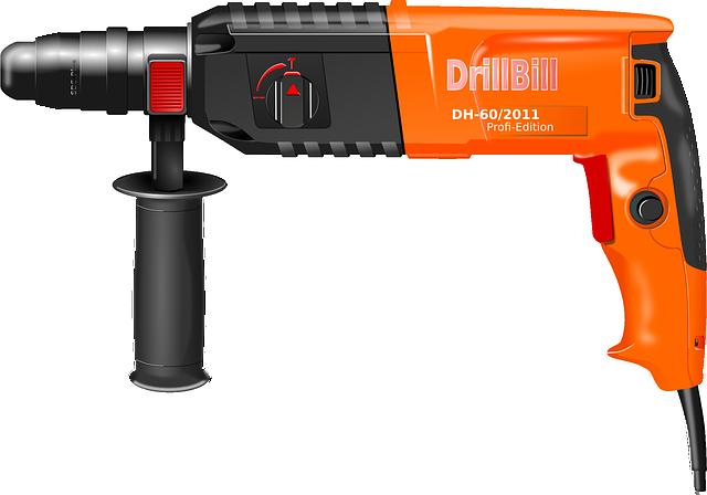 power drill, drill hammer, drill