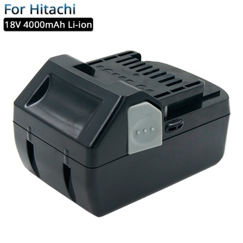 Rechargeable battery 18V 4.0A Li-ion Power Tools replacement batteries for Hitachi 18V DS18DSL BSL1830 BSL1815 BSL1840 Battery