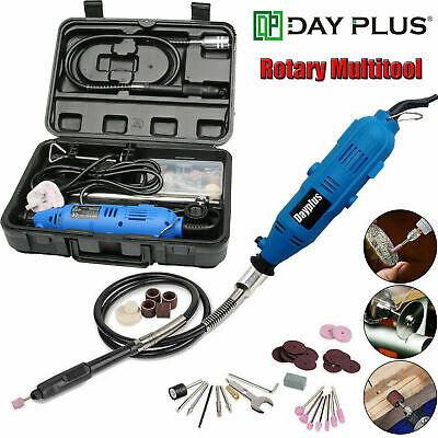 Rotary Tool Set Dremel Accessory Kit 80 PC | Grinding Sanding Polishing w/ Case