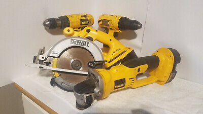 Set of Dewalt 18V Power Tools