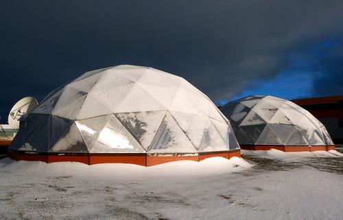 subarcticmike arctic nunavut arviat community greenhouse... (Photo: subarcticmike on Flickr)