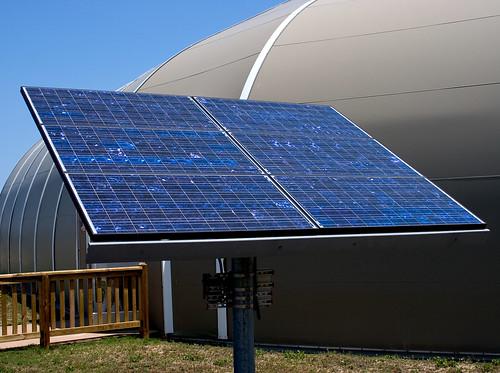 blue brown solar power solarpanel kittyhawk (Photo: Jimmy_Joe on Flickr)