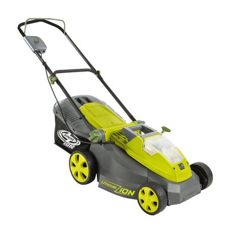 Sun Joe iON16LM-CT Cordless Lawn Mower 16 inch 40V Brushless Motor (Core Tool Only)