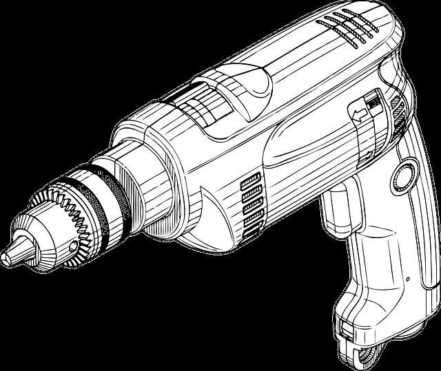 tool, drill, construction