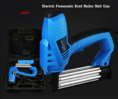 Used 220V Electric Pneumatic Brad Nailer Nail Gun 2000W