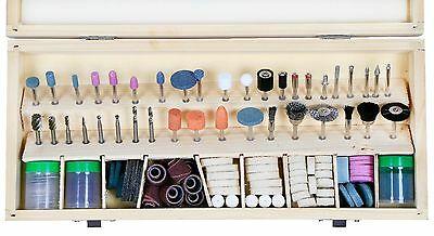 VCT 228 PC Rotary Tool Dremel Kit | Craft Grinding Sanding Polishing Drilling